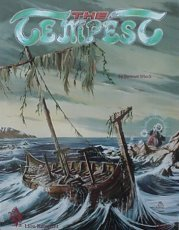 Cover illustration for The Tempest