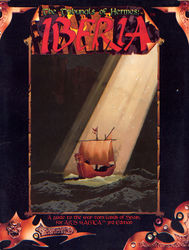 Cover illustration for Tribunals of Hermes: Iberia