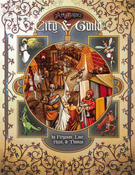 Cover illustration for City & Guild
