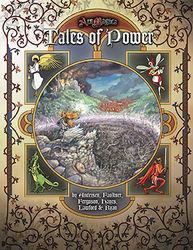 Cover illustration for Tales of Power