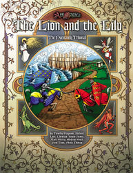 Cover illustration for The Lion and the Lily: The Normandy Tribunal