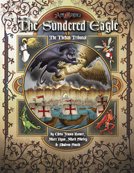 Cover illustration for The Sundered Eagle: the Theban Tribunal