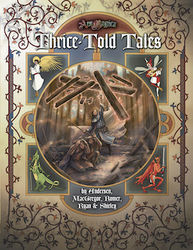 Cover illustration for Thrice-Told Tales