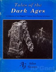 Cover illustration for Tales of the Dark Ages