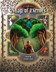 Cover illustration for Magi of Hermes