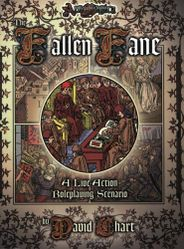 Cover illustration for The Fallen Fane