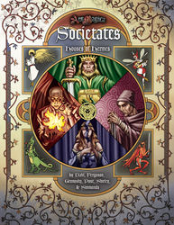 Cover illustration for Houses of Hermes: Societates