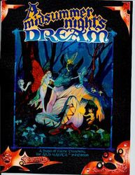 Cover illustration for A Midsummer Night's Dream