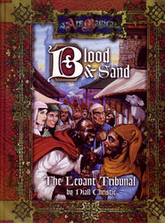 Cover illustration for Blood and Sand: The Levant Tribunal