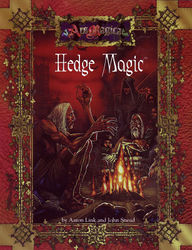 Cover illustration for Hedge Magic