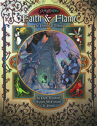 Cover illustration for Faith and Flame: The Provençal Tribunal