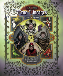 Cover illustration for Houses of Hermes: True Lineages