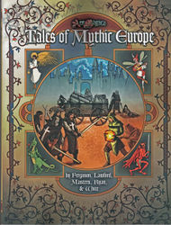 Cover illustration for Tales of Mythic Europe