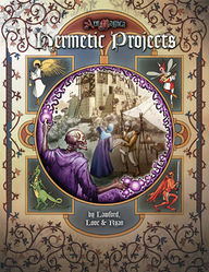 Cover illustration for Hermetic Projects