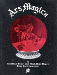 Cover illustration for Ars Magica (First Edition)