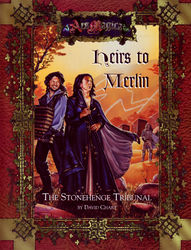 Cover illustration for Heirs to Merlin: The Stonehenge Tribunal