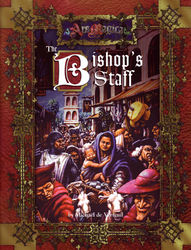 Cover illustration for The Bishop's Staff