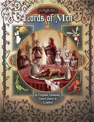 Cover illustration for Lords of Men