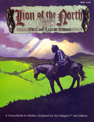 Cover illustration for Lion of the North: The Loch Leglean Tribunal