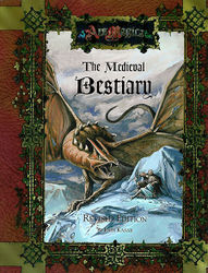 Cover illustration for The Medieval Bestiary Revised Edition