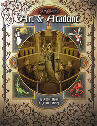 Cover illustration for Art and Academe
