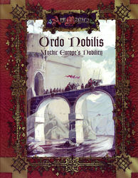 Cover illustration for Ordo Nobilis: Mythic Europe's Nobility