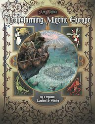 Cover illustration for Transforming Mythic Europe