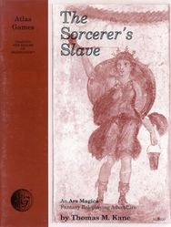 Cover illustration for The Sorcerer's Slave